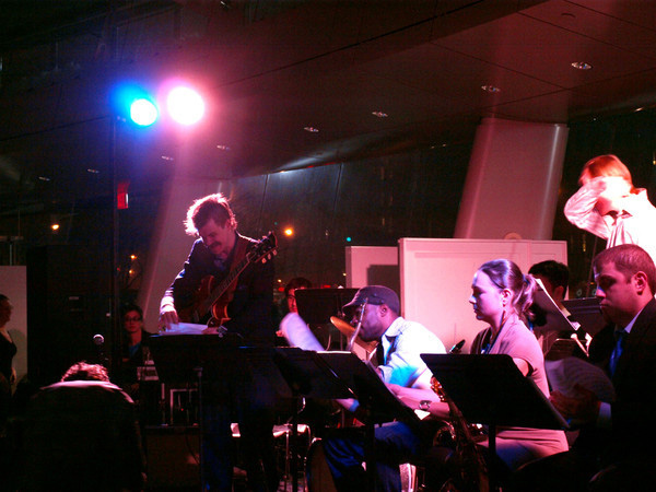 Jade Synstelien with the Fat Cat Big Band